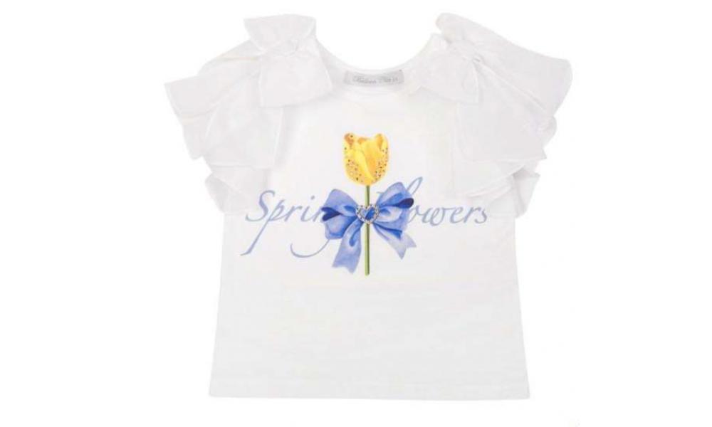Palaidinė Balloon Chic balta Spring flowers