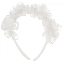 Lankelis Balloon Chic baltais su gėlėmis