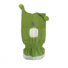 Šalmukas kepurė Huppa Coco žalios spalvos