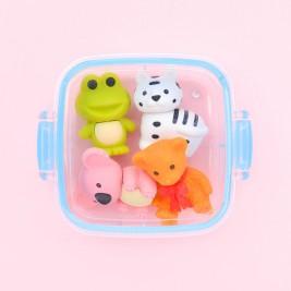 Trintukų rinkinys Gyvūnai dėžutėje