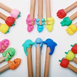Trintukai - pieštukų antgaliai Toppers
