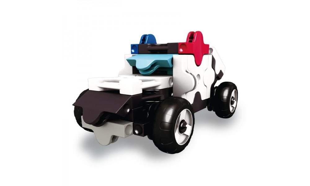 Konstruktorius LaQ mini Policijos mašina nuo 5 metų