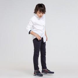 Kelnės berniukui paaugliui mėlynos