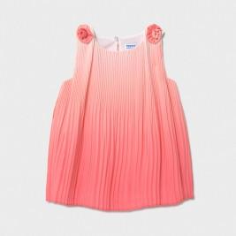 Suknelė kūdikiui koralų spalvos