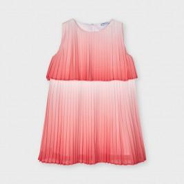 Suknelė mergaitei koralų spalvos