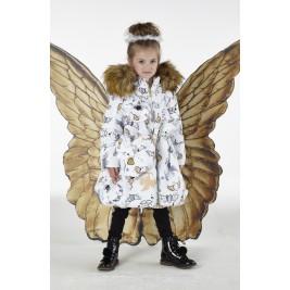 Paltas žieminis Angels mergaitei
