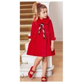 Suknelė aksominė raudona