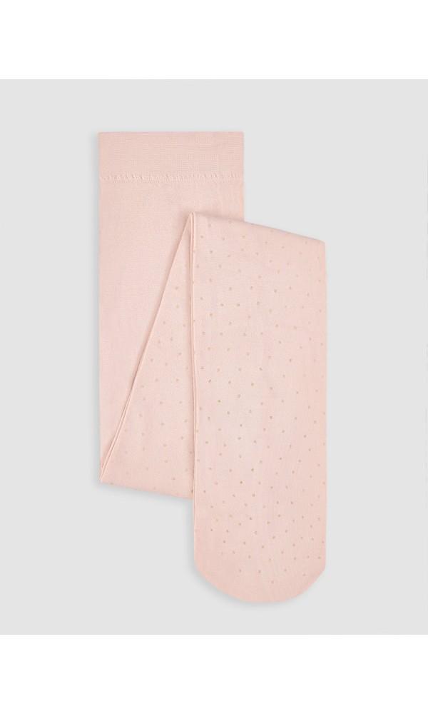 Pėdkelnės Abel&Lula taškuotos rožinės spalvos