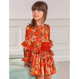 Suknelė Abel&Lula oranžinė gėlėta