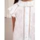 Marškinėliai trumpomis rankovėmis baltos spalvos