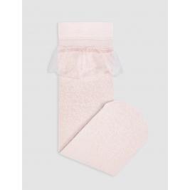 Kojinės Abel&Lula raštuotos rožinės spalvos