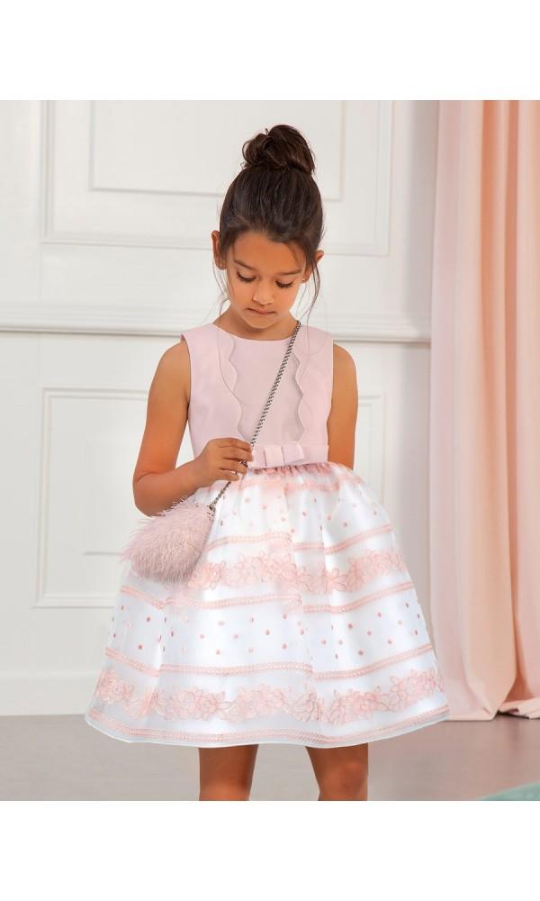 Suknelė Abel&Lula banguota rausvos spalvos