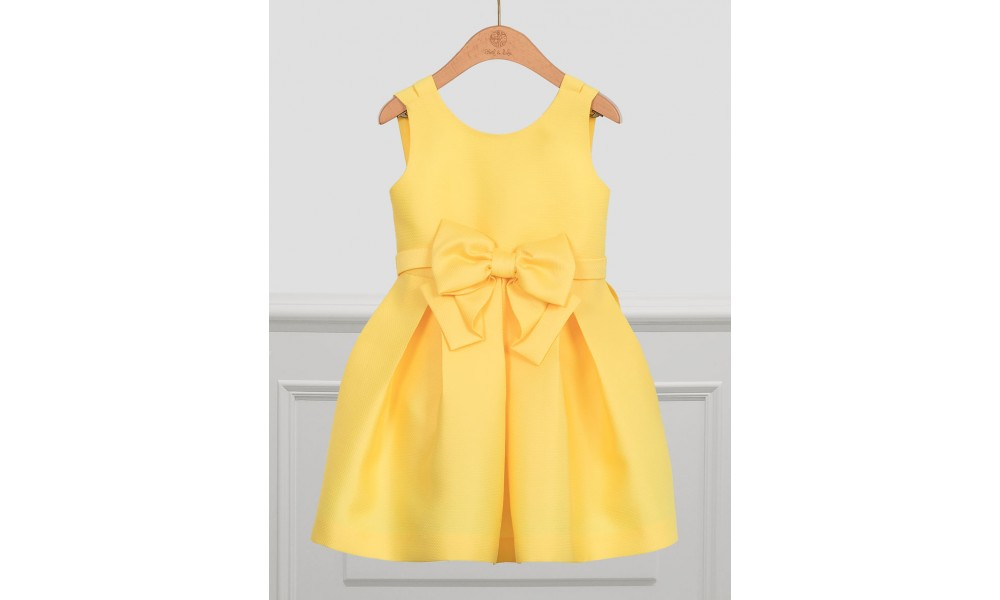 Suknelė Abel&Lula geltono žakardo