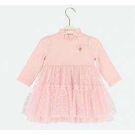 Suknelė kūdikiui Abigale rožinė