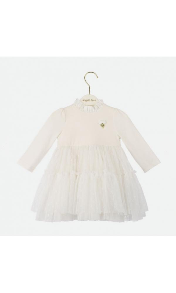 Suknelė kūdikiui Abigale balta