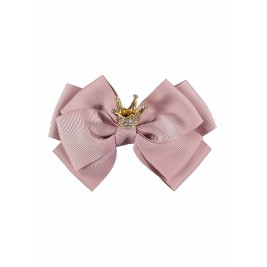 Plaukų segtukas Crown Big Bow Tea Rose
