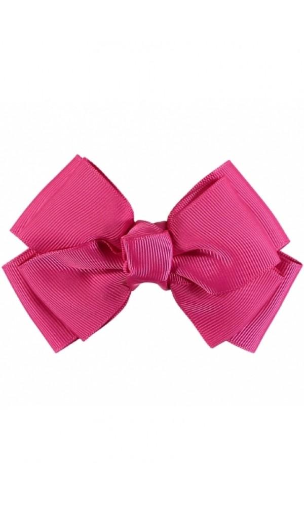 Plaukų segtukas Big Bow Fuchsia Pink