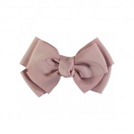 Plaukų segtukas Big Bow Vintage pink