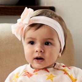 Galvos juosta kūdikiui Bonnie Ballet pink