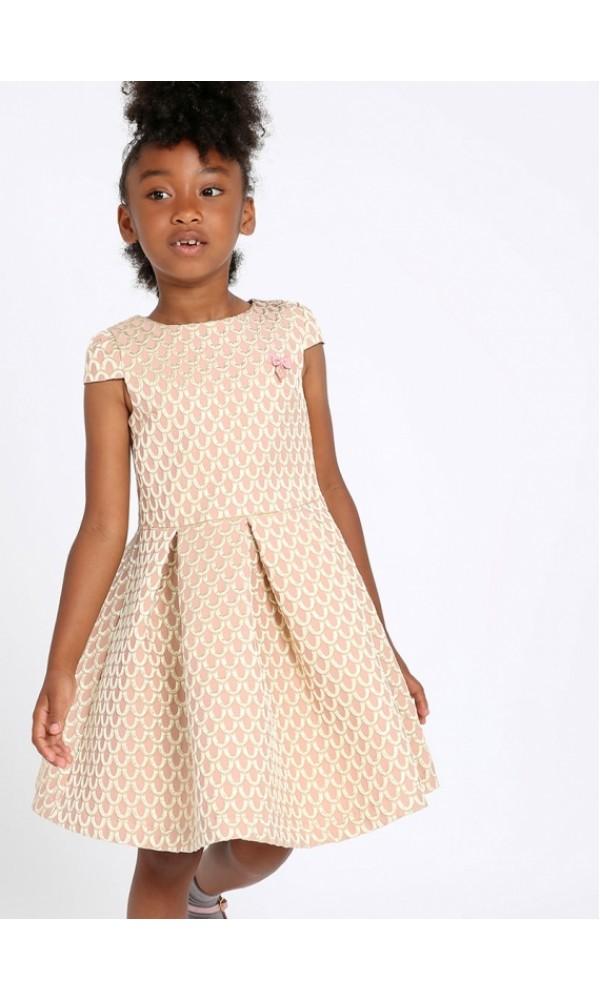 Suknelė Cece Dress Blush Pink/Gold
