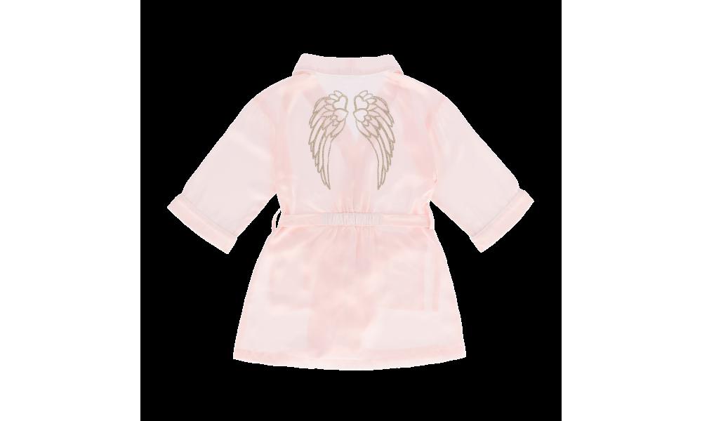 Chalatas ir miego kaukė Charlotte Ballet Pink