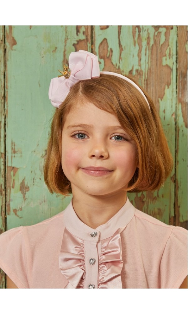 Lankelis Crown Headband Ballet pink
