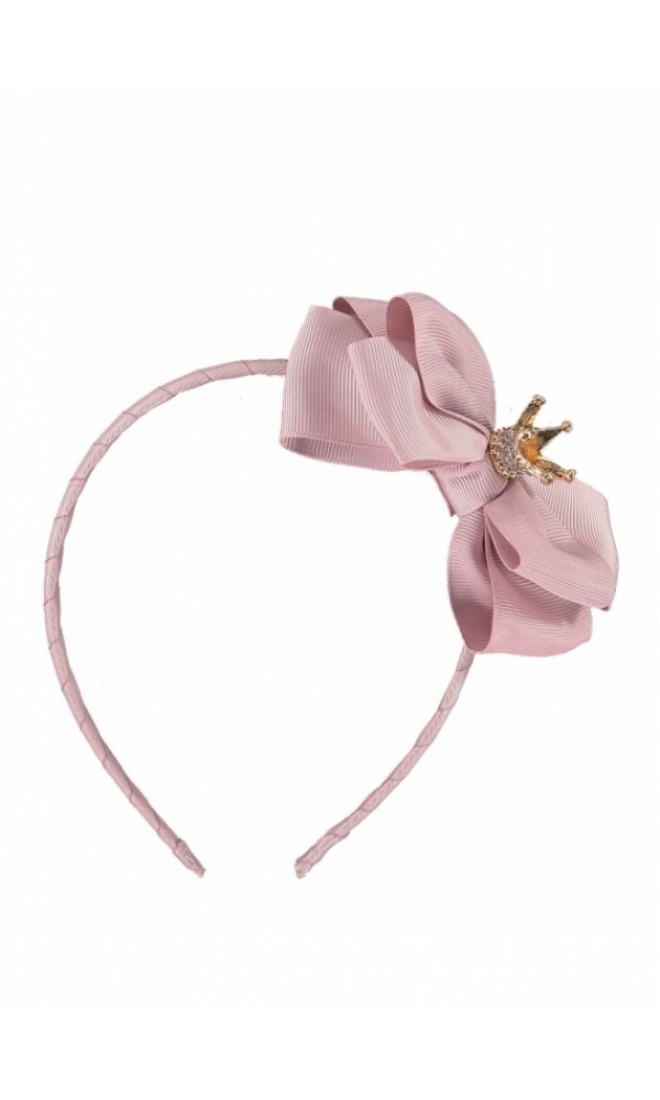 Lankelis Crown Headband Tea Rose