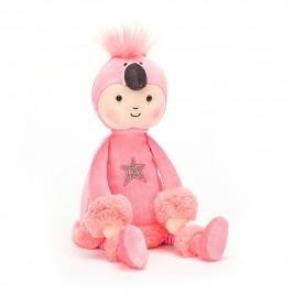 Pliušinis žaislas Mergaitė-flamingas