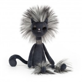 Pliušinis žaislas juoda Katytė