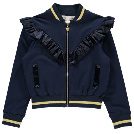 Džemperis Joanne Zip Up Royal Navy