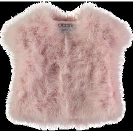 Liemenė Marabou Jacket Blush