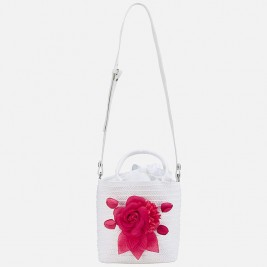 Rankinukas Flower bag white