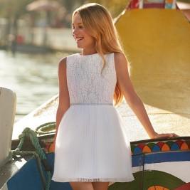 Suknelė Lace dress white
