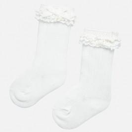 Kojinės baltos kūdikiui Mayoral