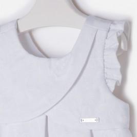 Suknelė balta žakardas
