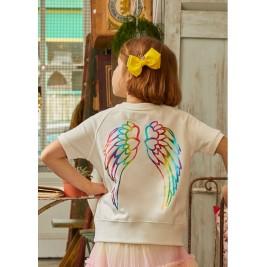 Džemperis Melody su vaivorykštės spalvų sparnais