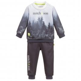 Sportinis kostiumas berniukui pilkas Forestry