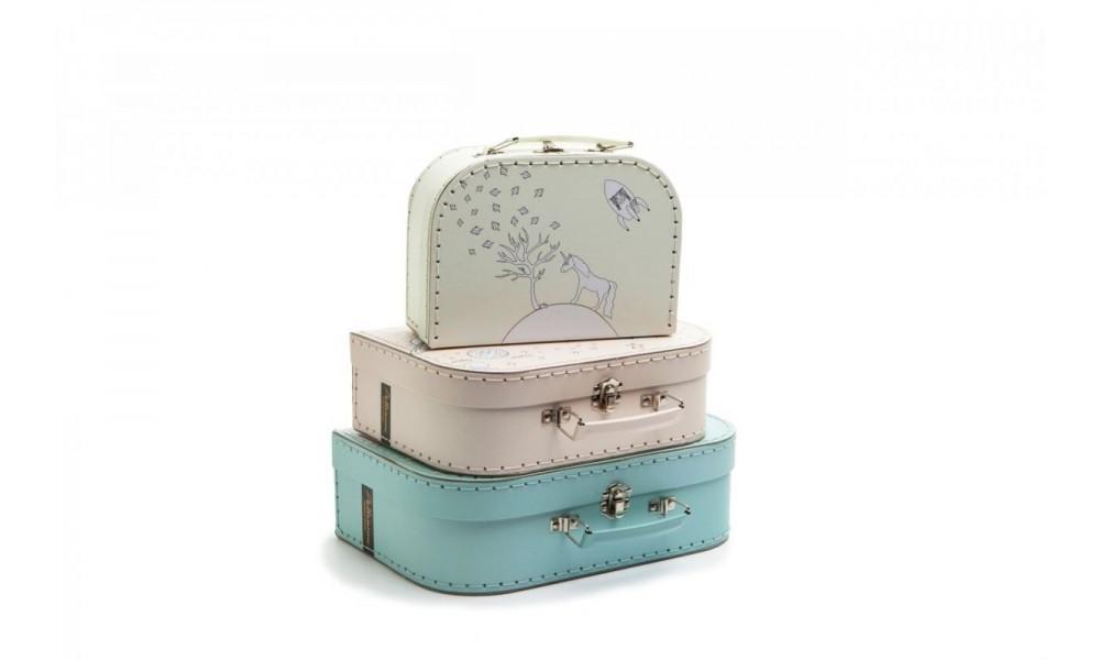 Dėžučių - lagaminų rinkinys