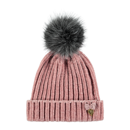 Kepurė Plush Hat Tea Rose
