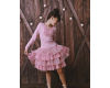 Suknelė Sadie rožinio tiulio