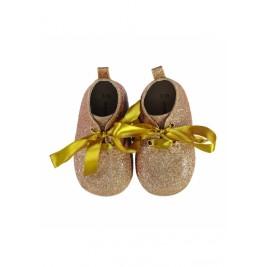 Batukai kūdikiams Gold Baby Booties