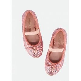 Bateliai Lillie toddler pumps pink