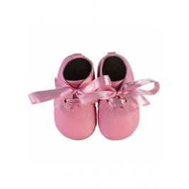 Batukai kūdikiams Pink Baby Booties