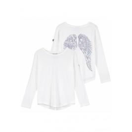 Palaidinė Long Sleeve Slouch Wings Snowdrop