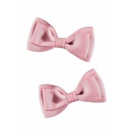 Plaukų segtukai bantukai Twin pack rožiniai