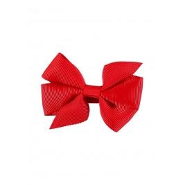 Plaukų segtukas Small Bow Fiery red