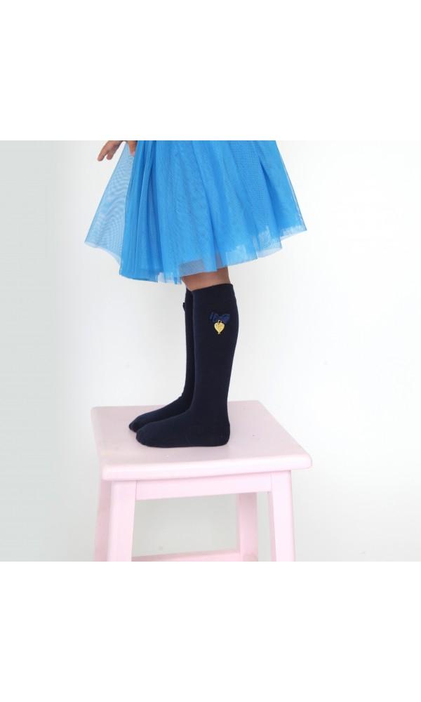 Kojinės iki kelių Navy Charming Socks
