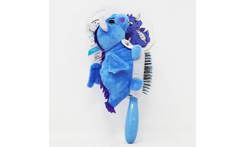 Plaukų šepetys su žaisliuku Drakonas