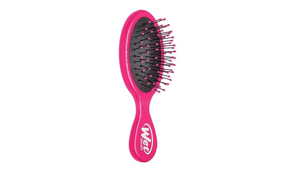 Plaukų šepetys mini Rožinis
