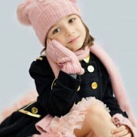 Angel`s face military coat & tutu skirt